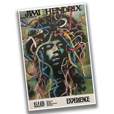 Jimi Hendrix Experience January 15th 1969 Reproduction Concert Poster
