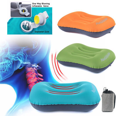 Air Pillow Cushion Self-Inflating Soft Inflatable Outdoor Camping Hiking Travel