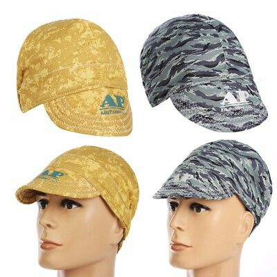 2 Types Head Protective Scarf Sweat Absorption Elastic Welding Cotton Hat Cap