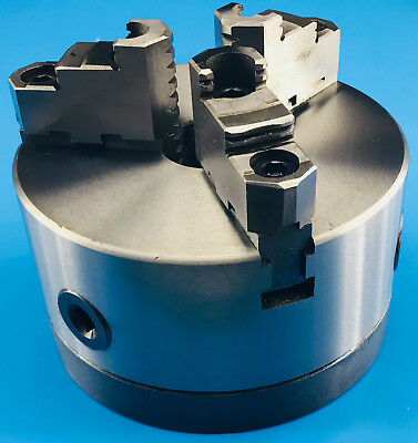 160 mm 3 Jaw Lathe Chuck with Direct Mount D1-3 Camlock Ref: K11160AD3