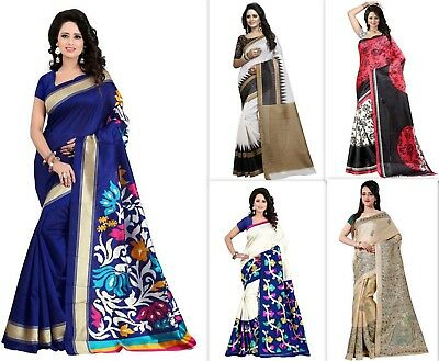KANJIPURAM Sari Indian Ethnic Saree Bollywood Bridal Designer Fashion Wedding SC