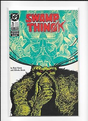 Swamp Thing #75 Decent (8.0/8.5) Dc