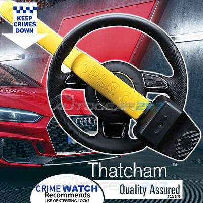 For Audi Stoplock Pro Elite Thatcham Cat 3 Car 4x4 Steering Wheel Security Lock