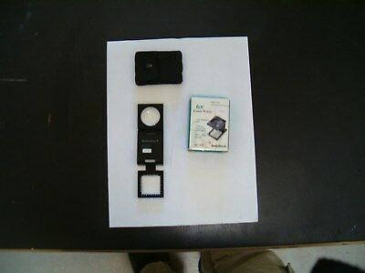 RadioShack 63-1303 Glass Lens 6X Linen Tester Manufactured September 2002