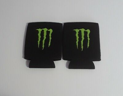 2 Monster Energy Drink Logo Claw Koozie Can Coolers