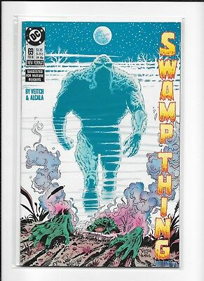 Swamp Thing #69 Higher Grade (8.5) Dc Copper Veitch