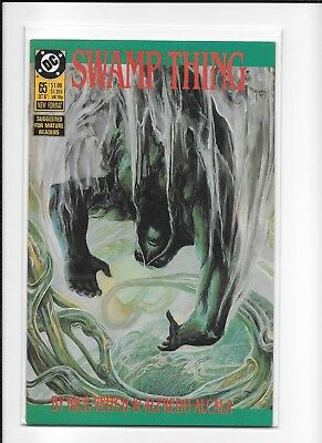Swamp Thing #65 Decent (7.0) Dc Copper Veitch