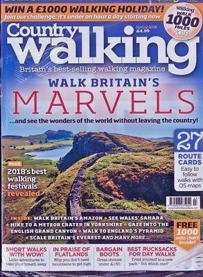 Country Walking Magazine Spring 2018 ~ New ~