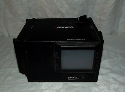 Ambico photo camcorder film projector slide transfer box with light tested works