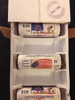 2018 P D S Apostle Island National Lakeshore Stamp Cancel 3 QUARTER ROLLs PDS 18