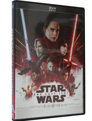Star Wars: Episode VIII 8 - The Last Jedi DVD New Sealed Free Shipping US Seller