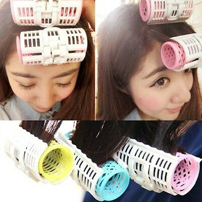 3pcs Pro Magic DIY Hair Bang Curlers Tool Styling Rollers Spiral Circle Hot SALE