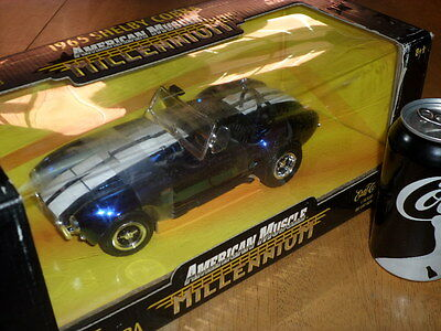 1965 Shelby Cobra, American Muscle, Die Cast Metal Factory Built Toy Car, 1:18