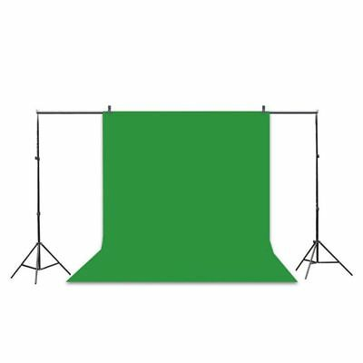 Professional Studio Background Stand Kit - 10x6.5ft Photo Backdrop Support St BT