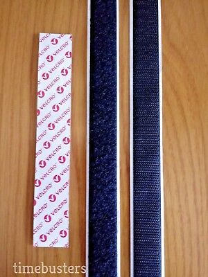 VELCRO 3m Hook And 3m Loop Sticky Glue Back Tape 20mm Stick On Self Adhesive