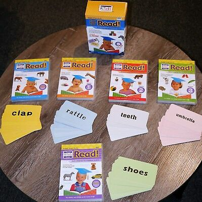 Your Baby Can Read Early Language Development DVDs EXC COND!!