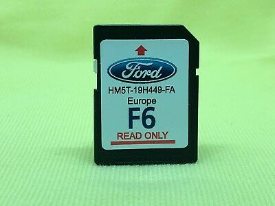 FORD SYNC2 Navigation SD card 2017 - 2018 LATEST F6 map Europe HM5T-19H449-FA