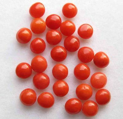 10.00 Cts Excellent Quality Natural Red Italian Coral Loose Gemstone lot