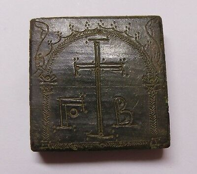 Byzantine Empire Bronze Weight of 2 Unciae 5th-6th century (53,38gr,30mm) XF/gXF