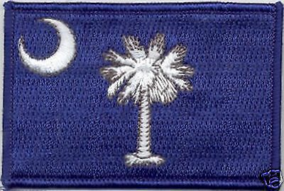 State Flag 100% Embroidered Patch - South Carolina