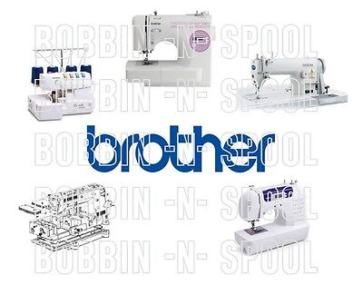Brother DB2 - B755 Industrial Sewing Machine Owner & Parts Manual (No Machine)