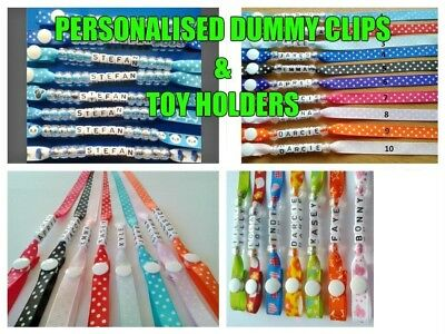 Personalised Dummy Clip, Buy Any 3 & Get 4Th Free