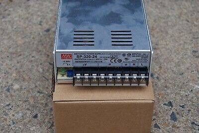 Mean Well Sp-320-24 Switching Power Supply Input 115 Output 24Vdc 13A
