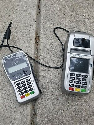 fd-130 duo credit card terminal and fd-35 pinpad with wells 350 encryption and