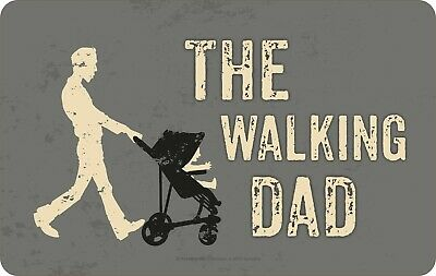 The Walking Dad Kinderwagen Brettchen Resopal Neu   14x23cm RB7384