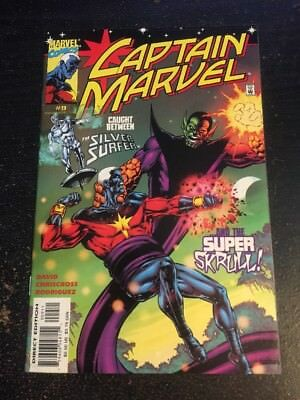 Captain Marvel#9 Incredible Condition 9.0(2000) Silver Surfer, Super Skrull!!