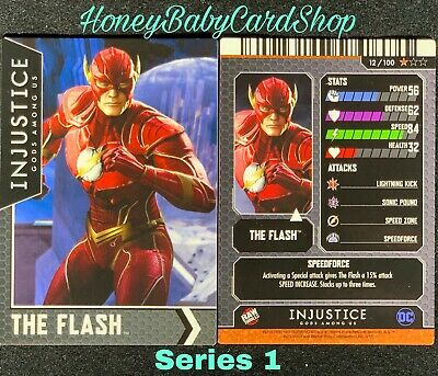 Injustice Arcade Dave and Busters Card 12 The Flash