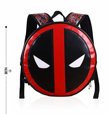 Crazy Toys Deadpool Backpack Schoolbag Cool Version S New