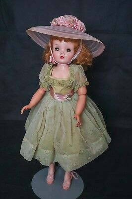 SALE Vintage Madame Alexander Cissy Doll 1958 Sheer Green tagged Outfit