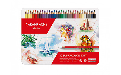 Caran D'ache Supracolor Watercolour Pencil 30 Years Limited Edition Tin