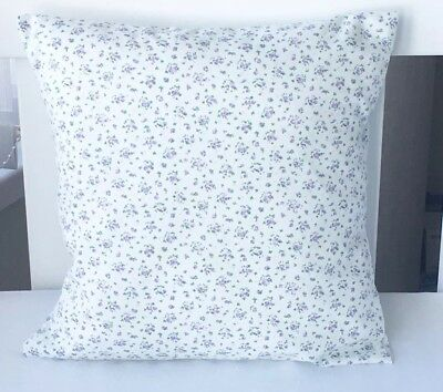 "12"" Handmade Cushion Cover Tiny Lilac Flowers 💐"