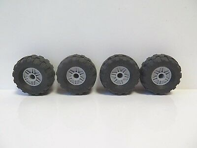 LEGO 8pc Technic Truck Mustang Wheel /& Tire SET Mindstorms nxt ev3 tyre 10265