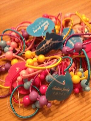 wholesale / joblot of 30 childrens mickey mouse hair bobbles party bag favours