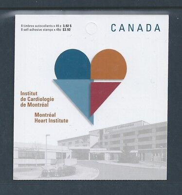Canada Booklet 2004 Montreal Heart Institute #BK296 MNH ** Free Shipping **
