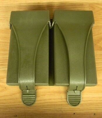 UNISSUED A+ GERMAN MILITARY 2 CELL MAGAZINE POUCH 7.62x51 NATO- G-Three