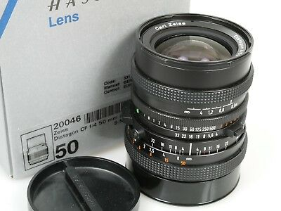 Carl Zeiss Hasselblad Distagon CF 4/50 T* FLE Nr. 8164885 TOP Near Mint + boxed