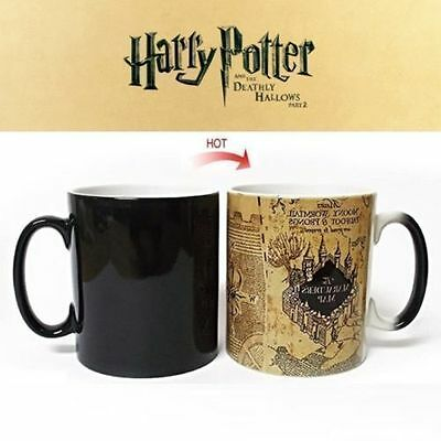 Harry Potter Ceramic Color Changing Mug Heat Sensitive Magic Coffee Cup Tea Cup