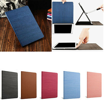 2018 New Cover Case For Apple iPad Air 1 2 Slim Leather Flip Smart Simple Resin