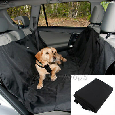 Pet Dog Rear Back Car Seat Cover Hammock Protector Cushion Waterproof Safety Mat