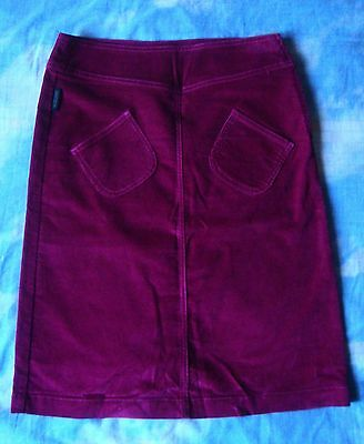 SKIRT gonna vintage 90's MOSCHINO jeans made Italy TG.38 circa XS  RARE