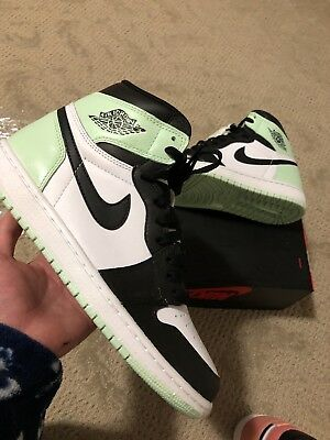 e93012368338 DS Nike Air Jordan 1 Custom Igloo size 8.5 w  half box   sole protectors