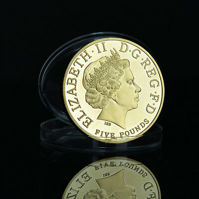 Gold Untied Kingdom Prince George Commemorative Coin Britain Coin Collectio Coin