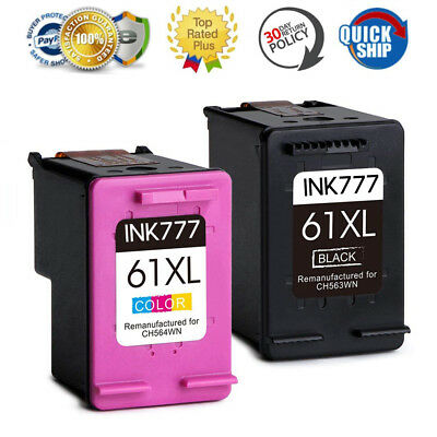 Black Colour Ink for HP 61 61XL Deskjet 1000 1050 1510 2000 2050 2510 3000 3050