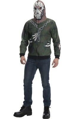 Jason Voorhees Friday The 13th Adult Mens Licensed Fancy Dress Halloween Costume