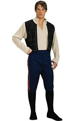 Licensed Han Solo Star Wars Adult Mens Fancy Dress Halloween Costume
