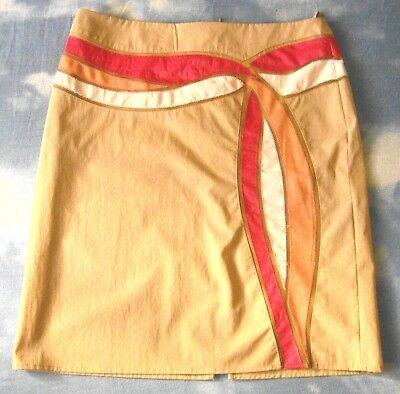 SKIRT gonna  vintage 90's VERSACE JEANS COUTURE made Italy TG.46-M  circa  RARE